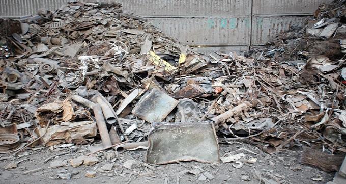 بازیافت ضایعات آهن