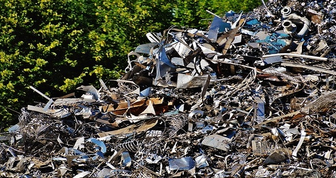 فرآیند بازیافت ضایعات آهنی